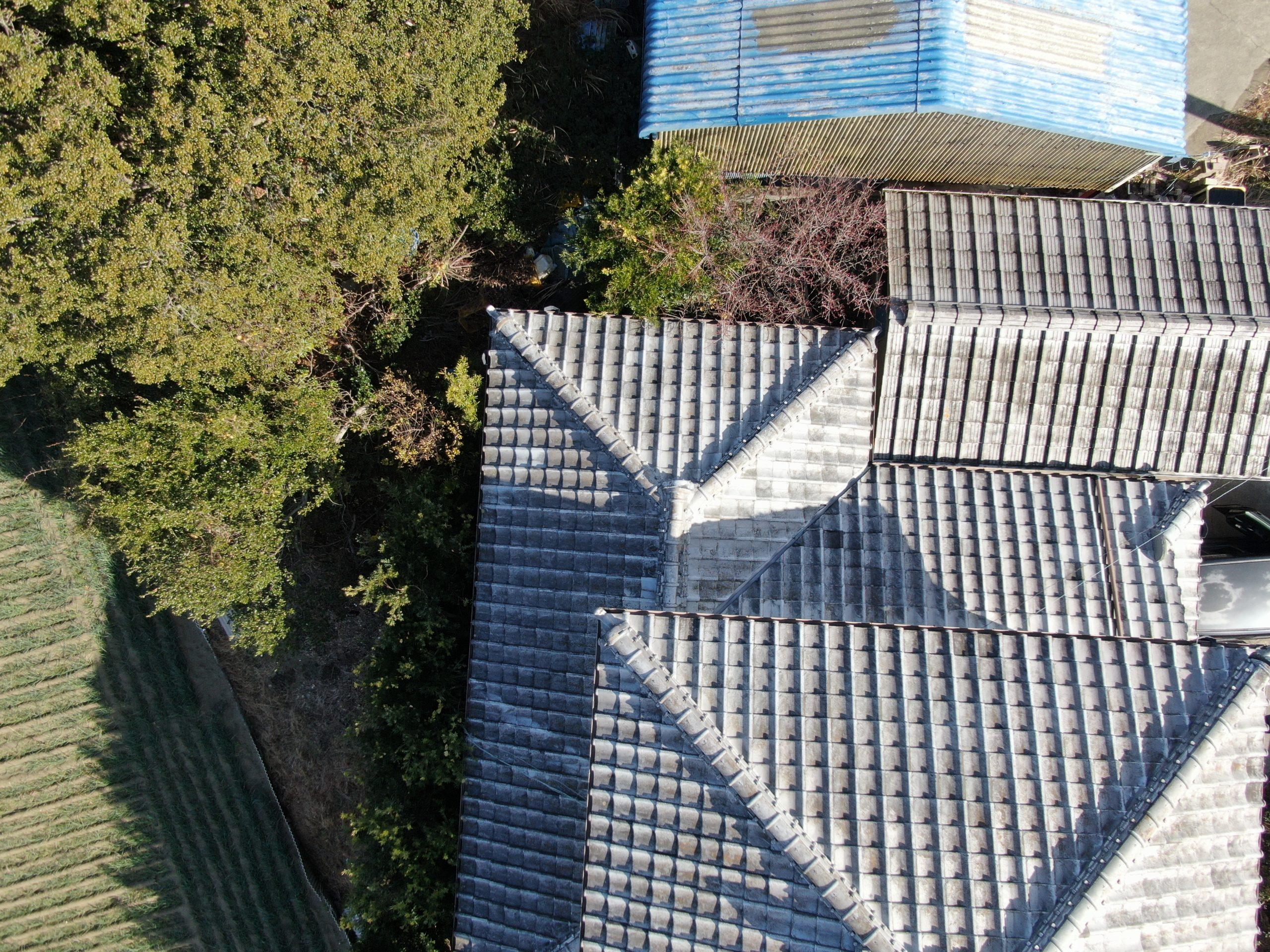 屋根点検画像②