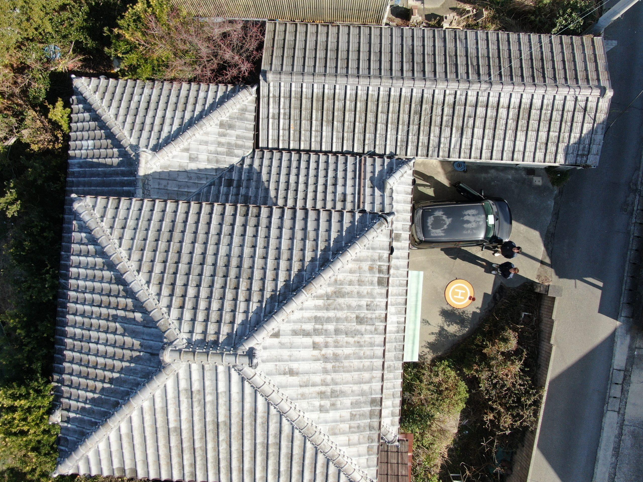 屋根点検画像①