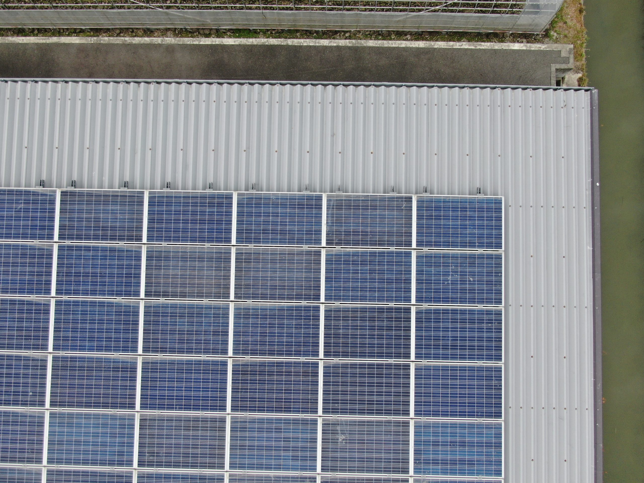 高画質ソーラーパネル画像